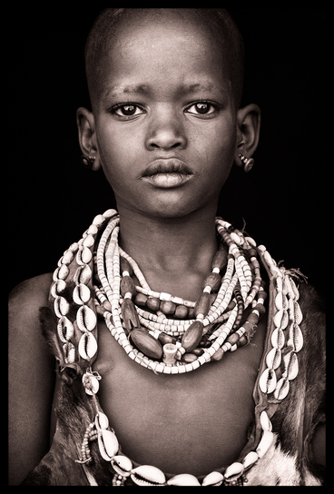 Young Hamar boy in Southern Omo
